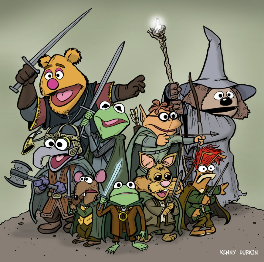 the_fellowship_of_the_muppets_by_durkinworks-d4gr6ib