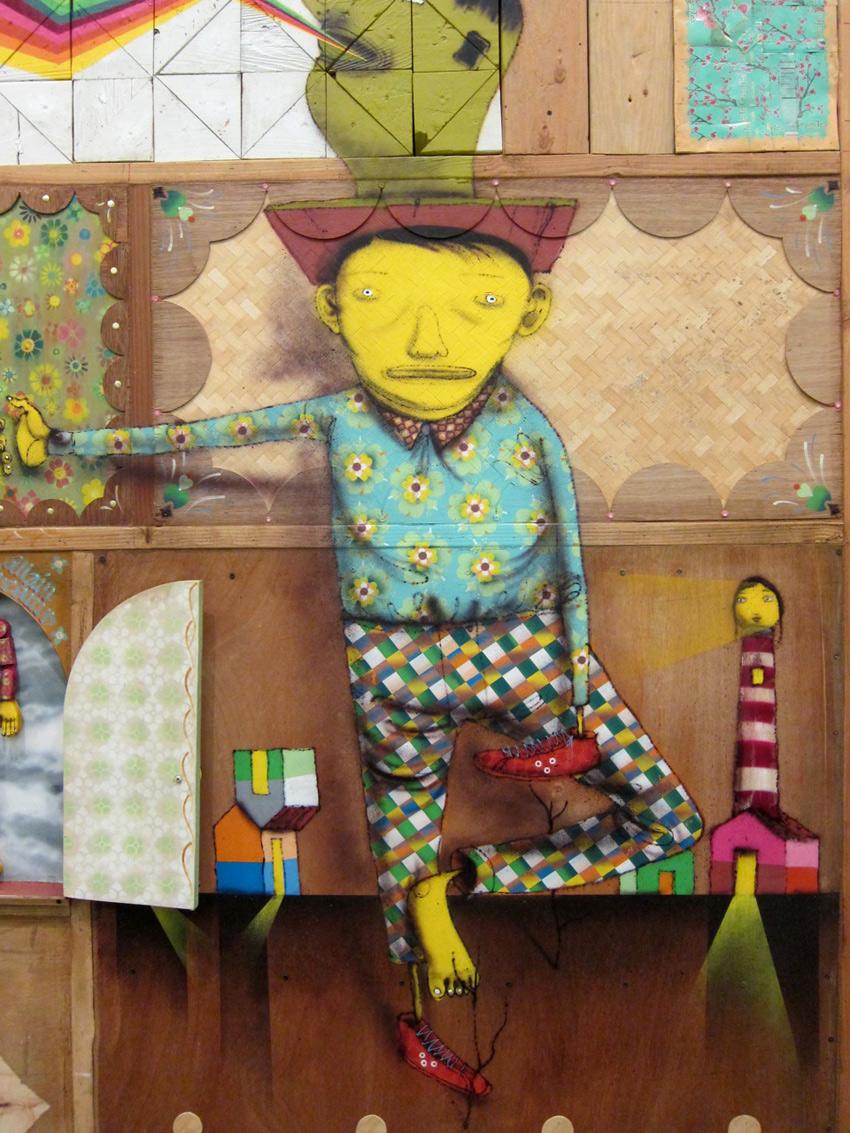 Joy Home Design Loja Virtual   Arte Rua Grafite Osgemeos Referans Blog 13