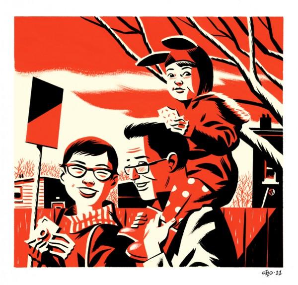 Michael-Cho-Retro-Illustrations-7-600x574